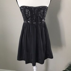 American Eagle strapless dress size 0